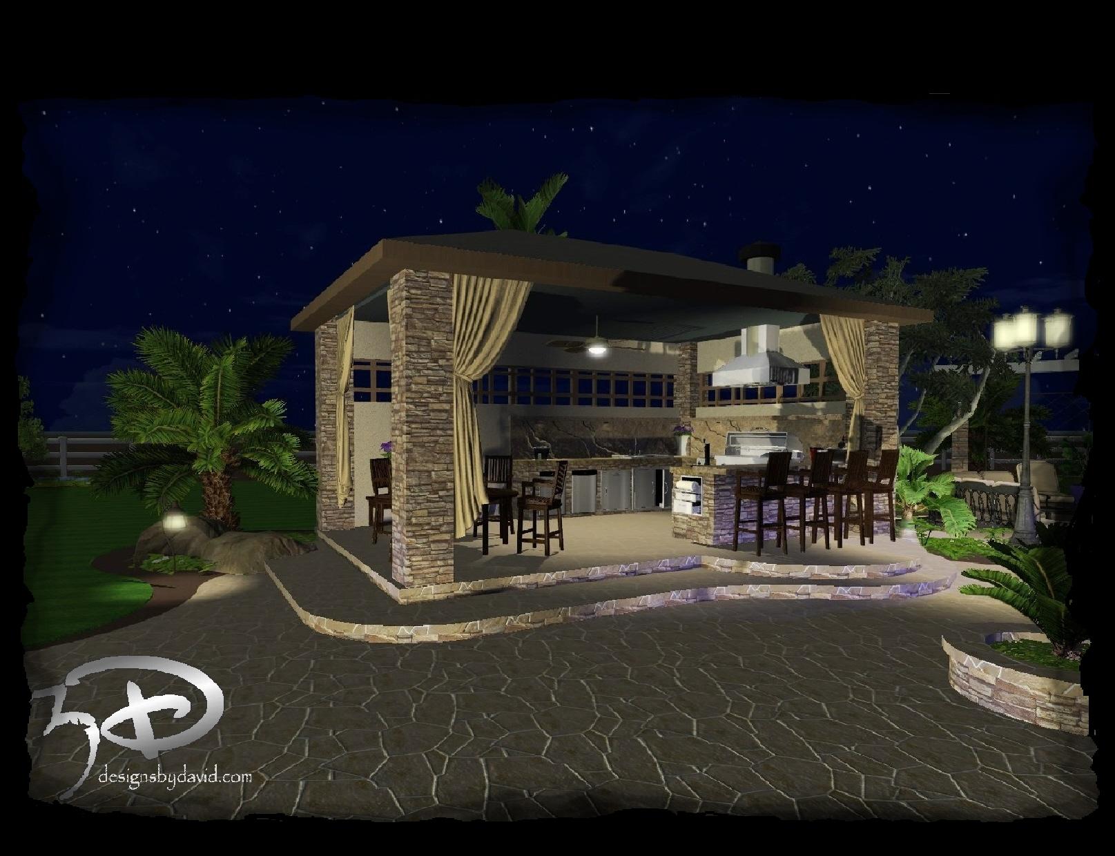 Cabanas & Outdoor Kitchens