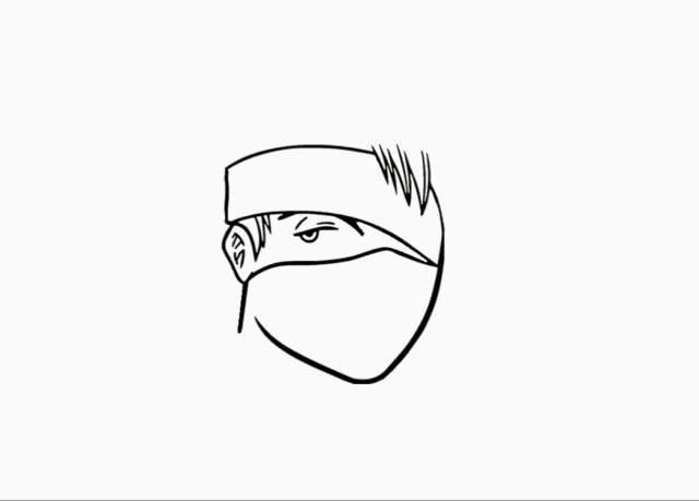 Kakashi Drawing