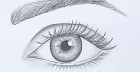 how to draw an eye step by step 7