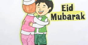 Eid drawing
