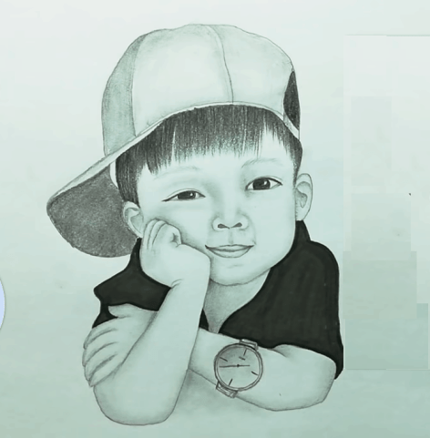 draw so cute boy