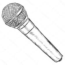 microphone drawing