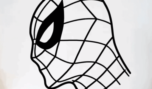 Draw Spiderman