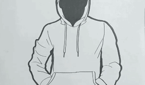 how to draw a hoodie, Hoodie Drawing, How to draw a Hoodie step by step, Hoodie Drawing Easy