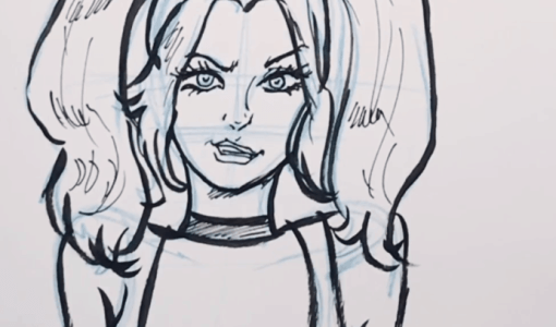 how to draw harley quinn