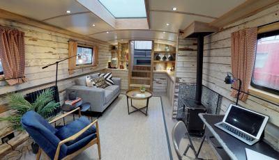 Turism pe barca 3D Model