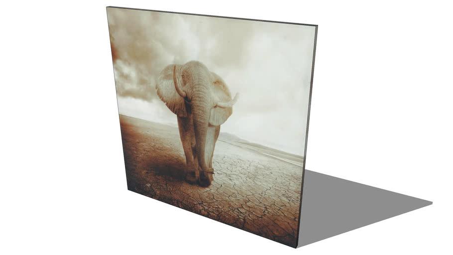 Toile Elephant Maisons Du Monde Ref 130 744 Prix 59 3d Warehouse