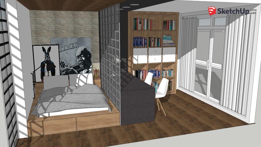 modern bedroom design chambre moderne