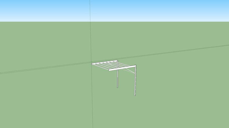 ikea grundtal drying rack 3d warehouse