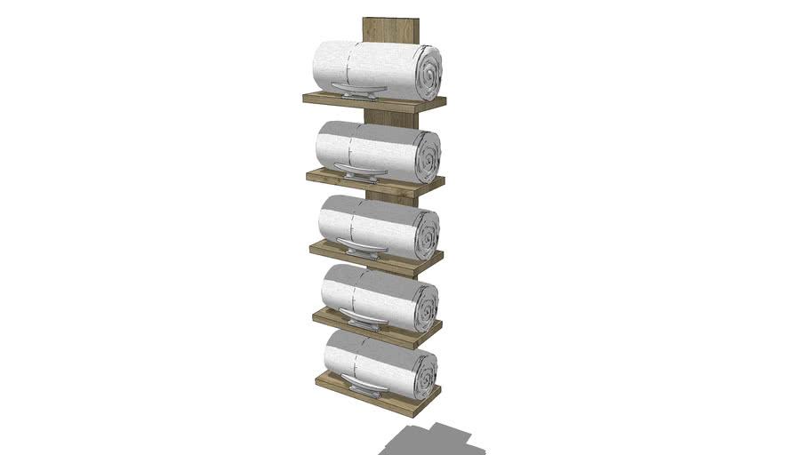 coastal towel rack 3d warehouse