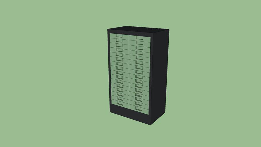 meuble range dossier a tiroirs de la