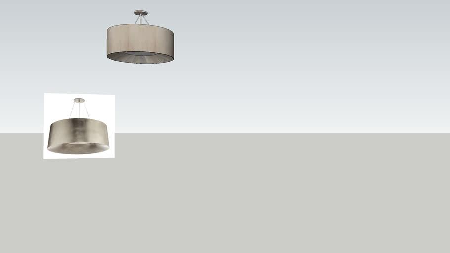 barbara barry modern halo light by