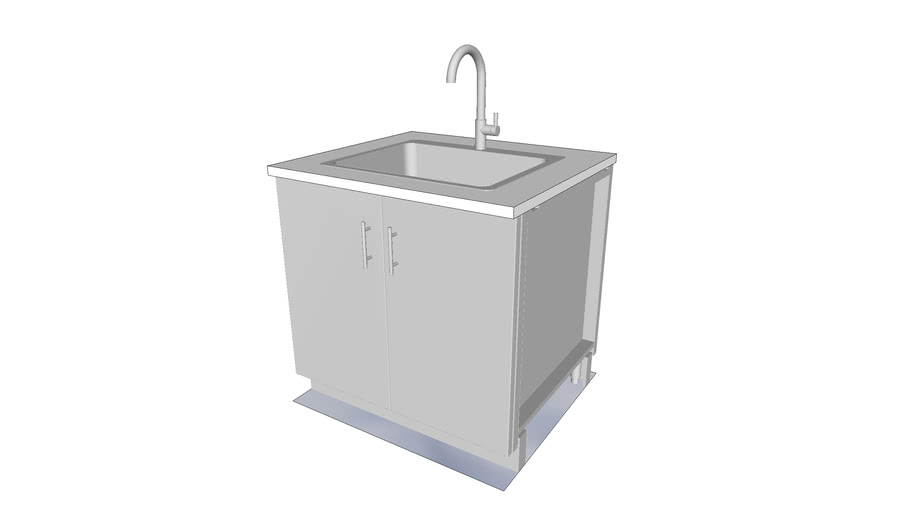 36 sink base cabinet 2 doors sink