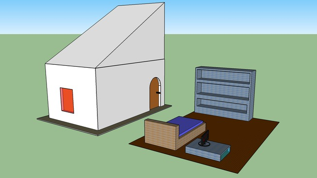 Plan De Chambre De Mirrael 3d Warehouse