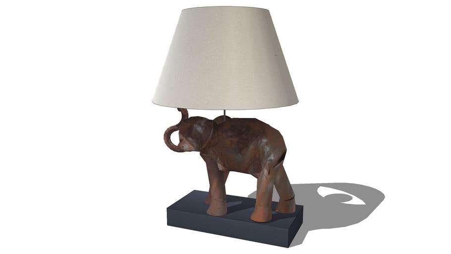 Lampe Elephant Maisons Du Monde Ref 131 539 Prix 3d Warehouse
