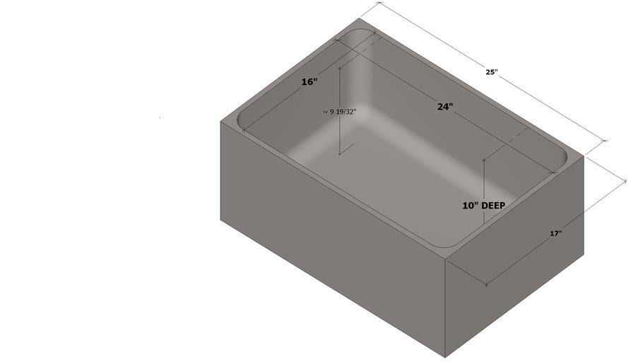 sink epoxy resin undermount