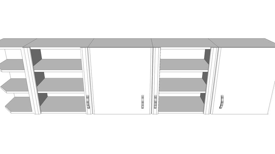 meuble haut cuisine ikea 3d warehouse