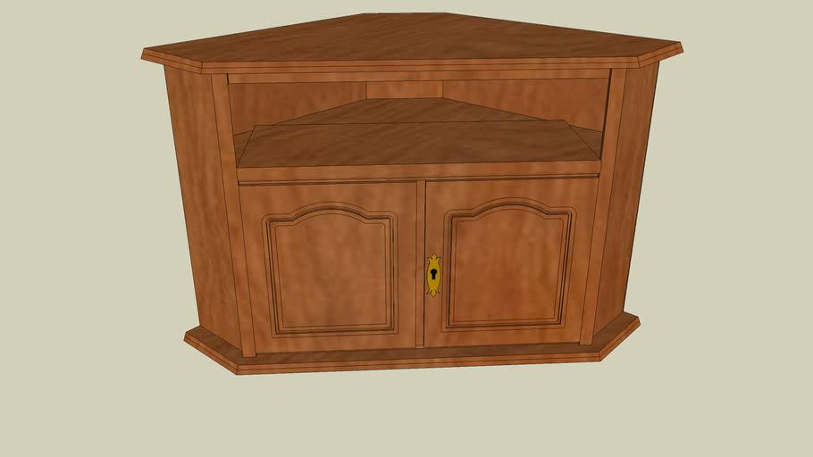 meuble tv de coin 3d warehouse