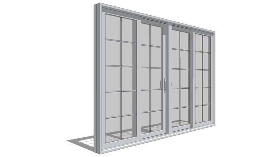 pella 350 series sliding patio door 4