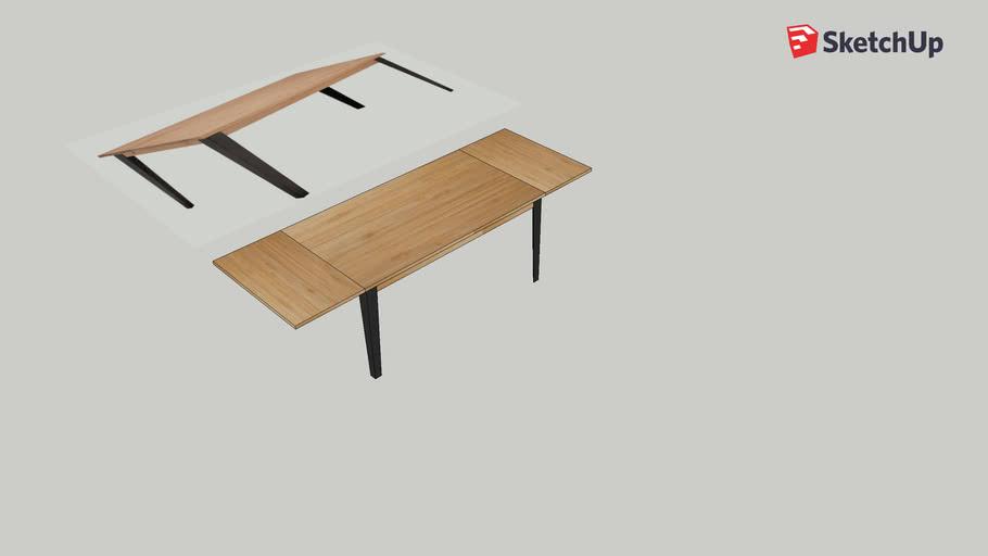 Alinea Table Mauguio 3d Warehouse