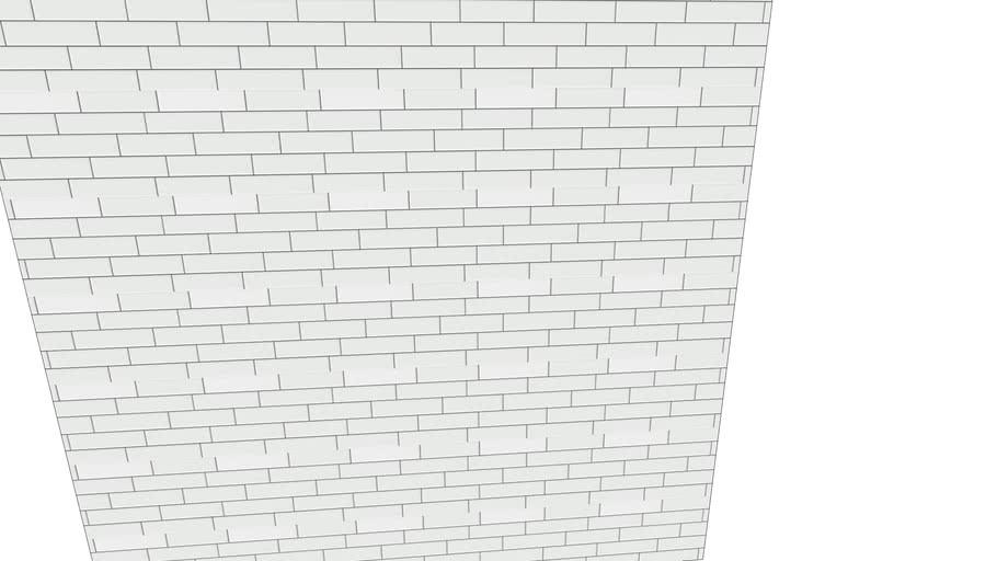 white subway tile dark grout 3d warehouse