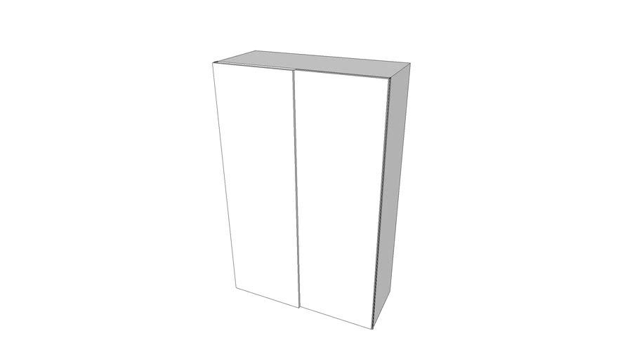 Armoire Ikea Pax Portes Coulissantes 150x240x75 3d Warehouse