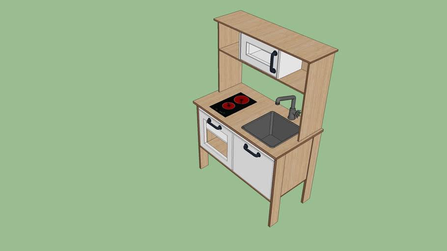 cuisine enfant ikea kid kitchen 3d