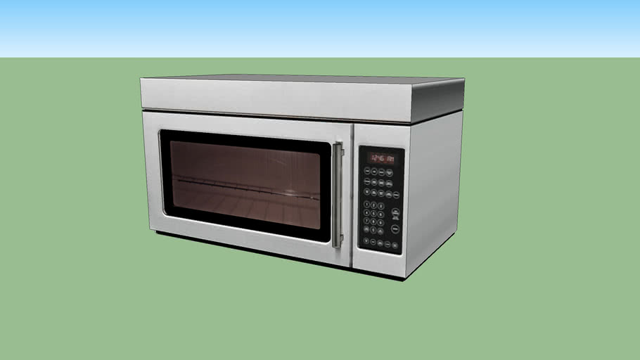 nutid microwave oven with extractor fan
