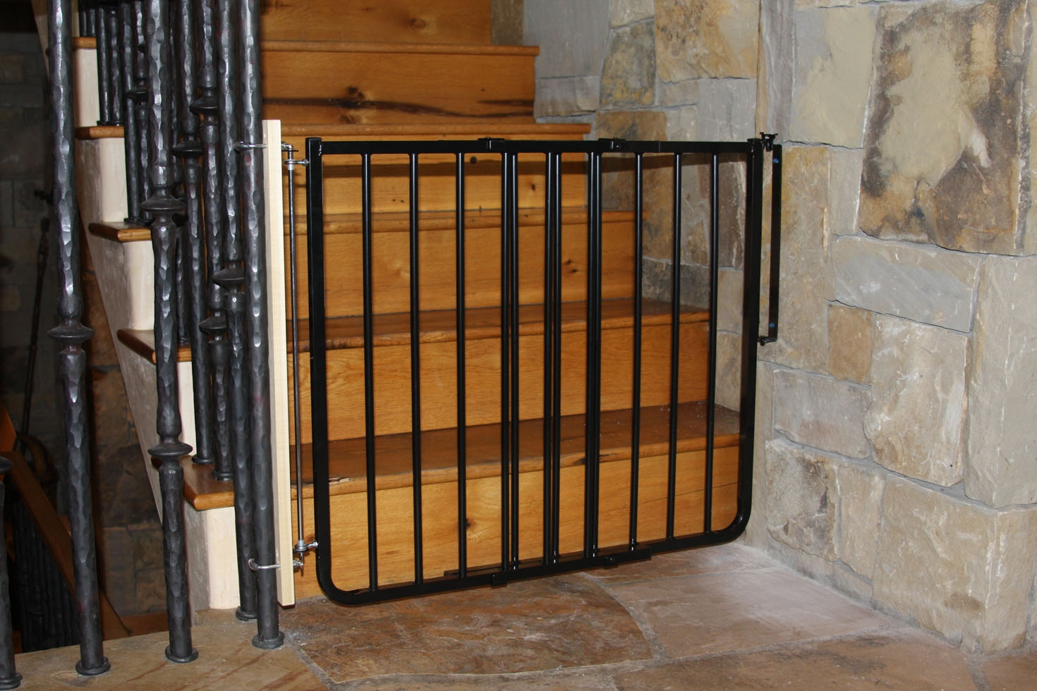 Stairway Special Safety Gate Baby Gates Cardinal Gates | Steel Gates And Stairs | Dreamstime | Handrail | Stainless Steel | Fence Gate | Egress