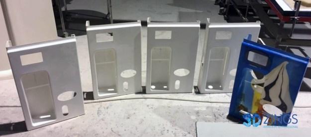 Imagen de carcasas de máquinas de helado en impresión 3D