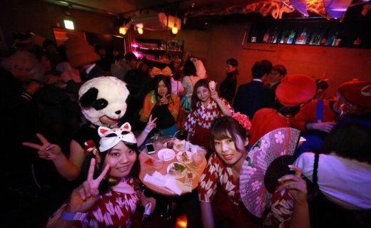 ★10/19(金) 【70名規模】3eBAR HALLOWEEN PARTY2018♪ 恋活・友活パーティーイベント