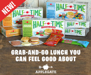 New Applegate HALF TIME Lunch Kits + Coupon #LunchingAwesome