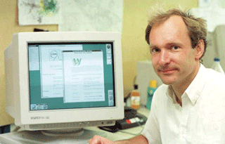 Tim Berners-Lee, CERN (ca. 1991)