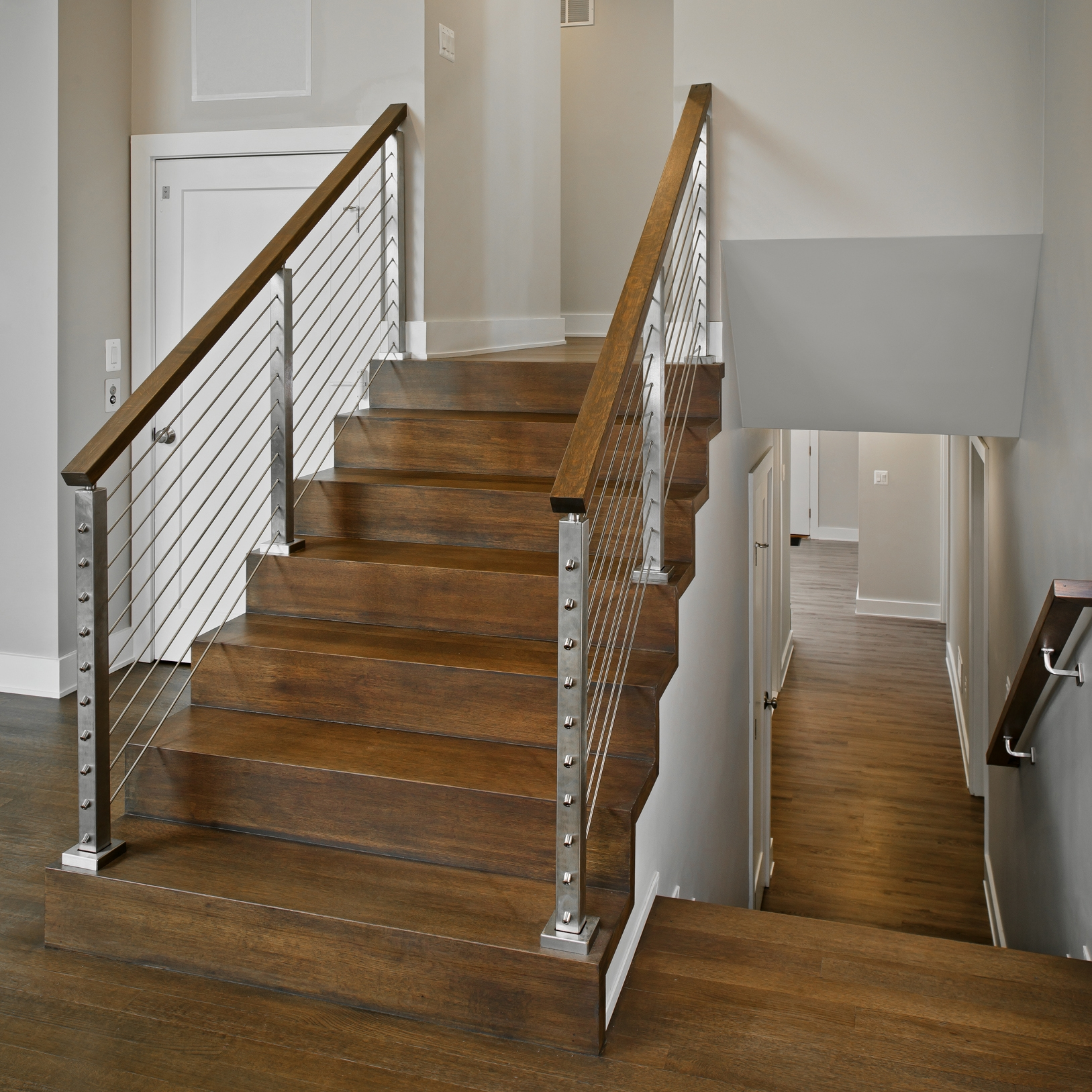 Staircase Design Ideas Owings Brothers Contracting | Two Story Staircase Designs | Entryway | Stunning | Glass | Two Storey House | 2 Story