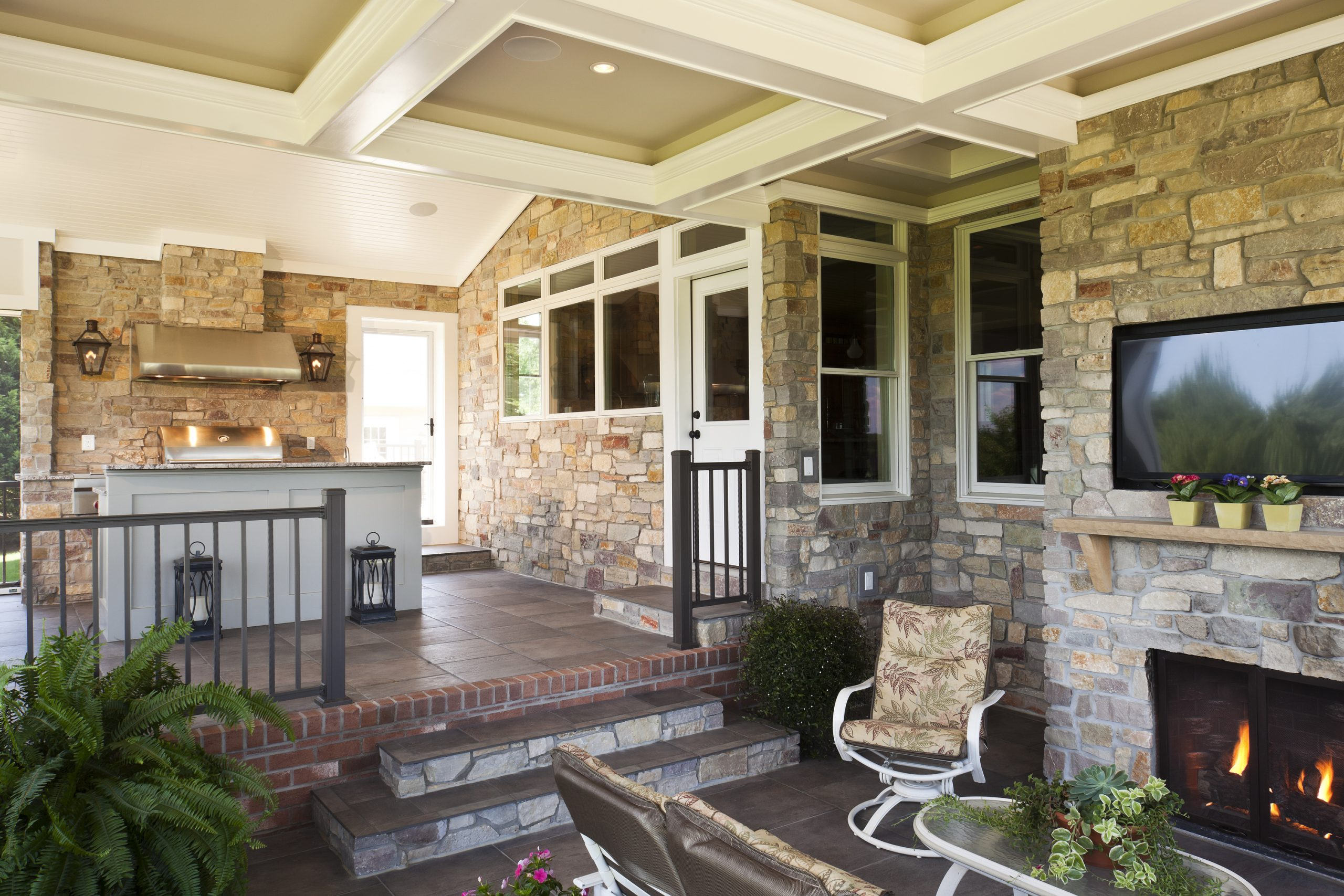 porch with these ceiling ideas