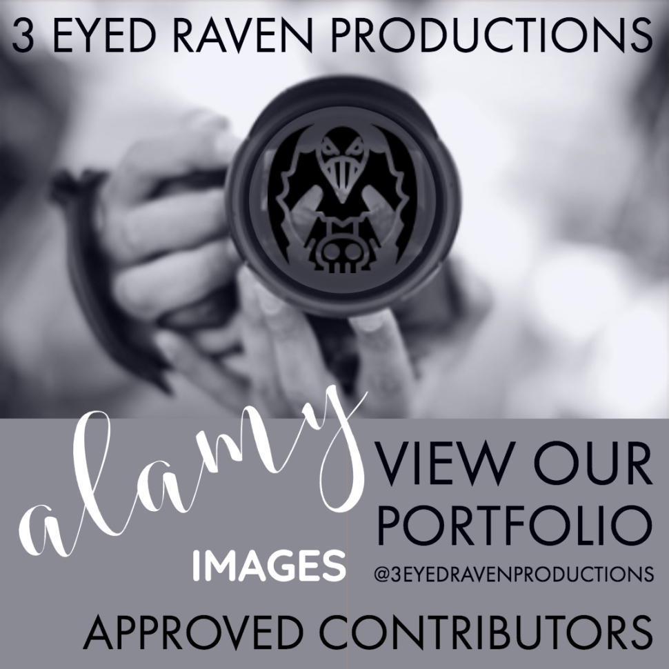 3 EYED RAVEN PRODUCTION IN ON ALAMY - FIND THE LINK HERE TO THEIR PORTFOLIO OF STOCK IMAGES AND FOOTAGE