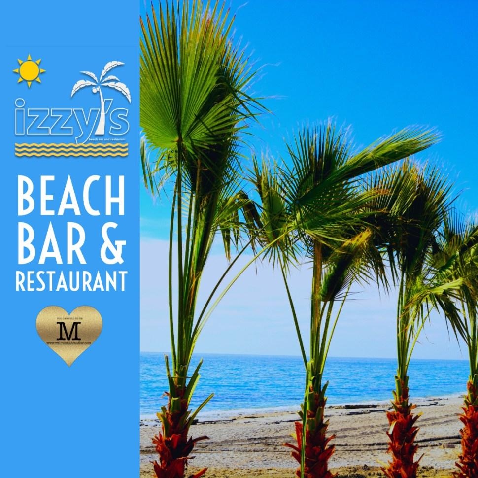 IZZYS BEACH BAR AS THE BEST BEACH  RESTAURANTS IN MAHMUTLAR. THE ULTIMATE ALANYA GUIDE,