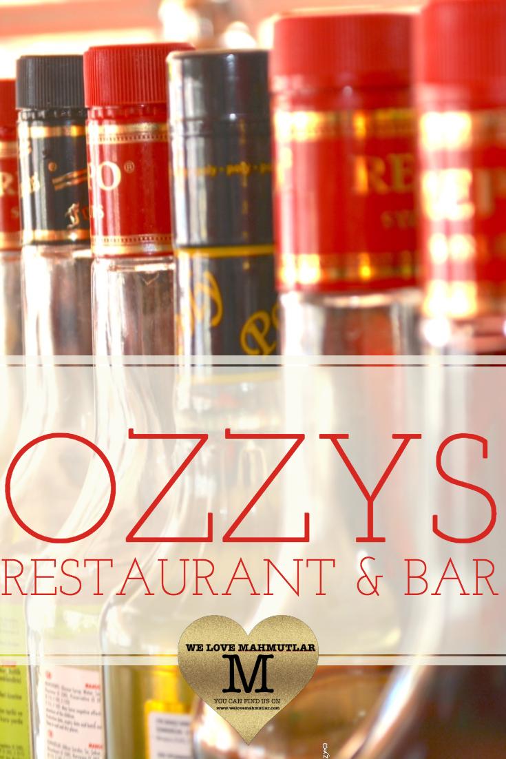 OZZYS RESTAURANT AND BAR IN MAHMUTLAR - BEST RESTAURANTS - WE LOVE MAHMUTLAR