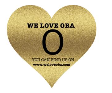 Heart Logo - We Love Oba - Visit our website for information