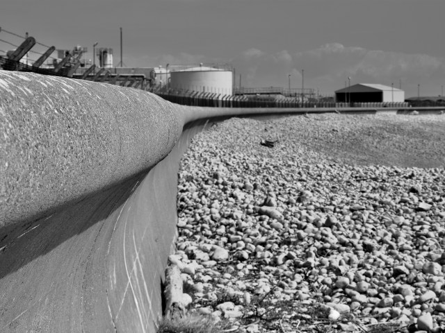Aberthaw Beach and Power Station Prints for sale