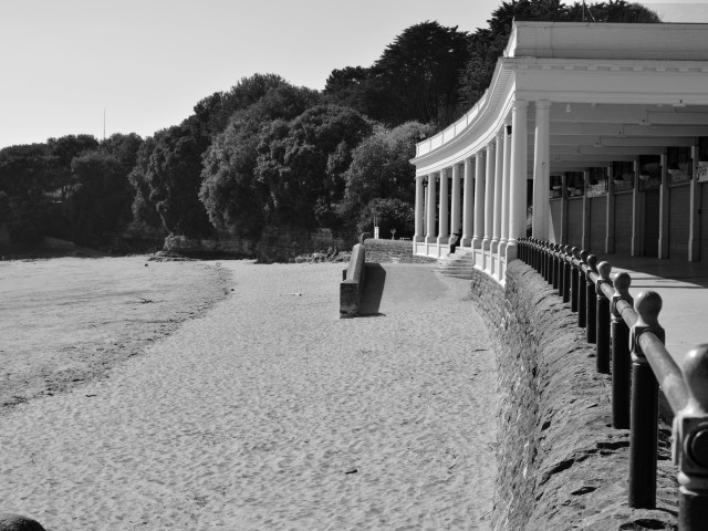 Barry Island: Black and White framed prints for sale