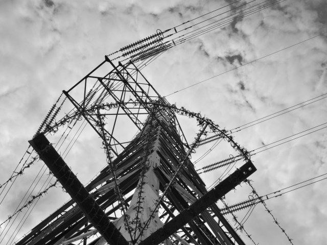 Industrial Photo Prints - Aberthaw Power Pylons