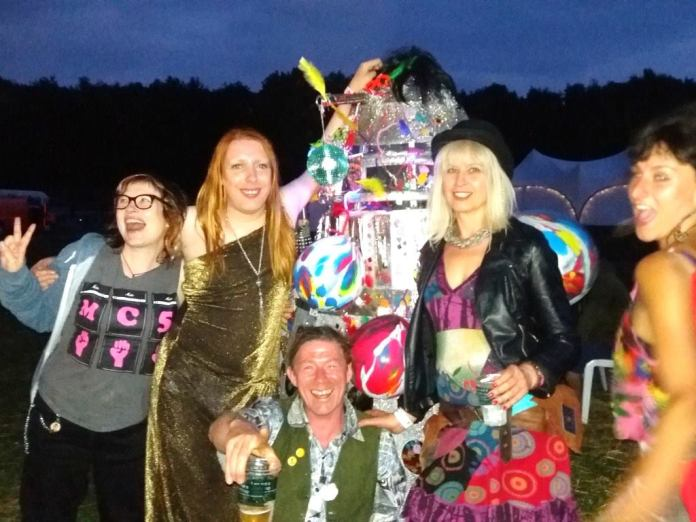 Disco Dalek at Festival 23, The 3EYE Sirius Party, July 2016