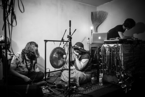 Daniel WJ Mackenzie, Karl MV Waugh, Dolly Dollycore, 3EYE's Merry Cosmos, The Rose Hill, December 2016