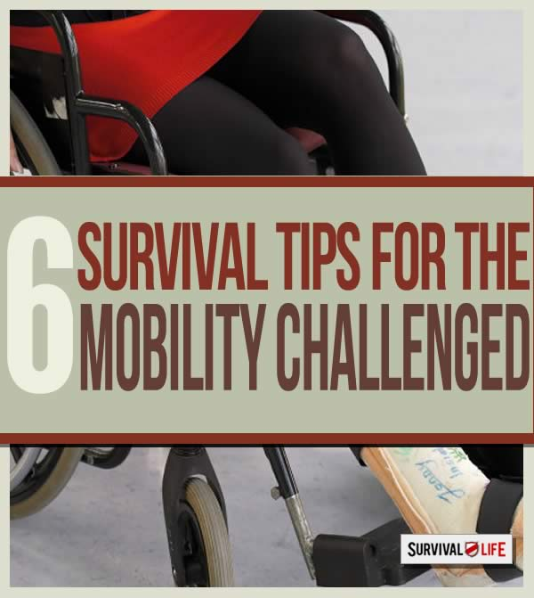 Prepping Tips For The Mobility Challenged | https://survivallife.com/prepping-tips-for-mobility-challenged