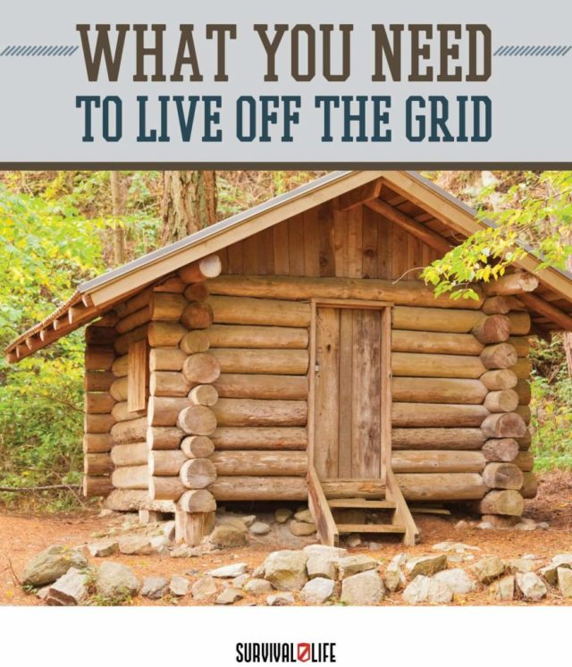 Placard | Live off the grid | Things You Need to Live Off the Grid