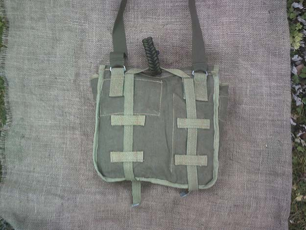 Straps | Make a Polish Army Bread Bag Kit