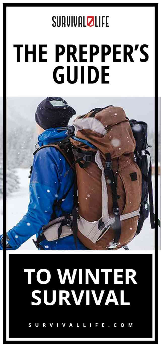 Placard   The Prepper's Guide To Winter Survival
