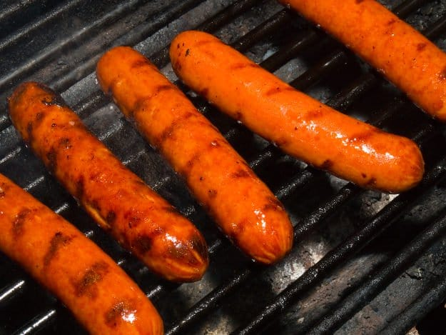 Hotdogs | Practical (Yet Delicious) Winter Campfire Cooking Ideas For Outdoor Cooking