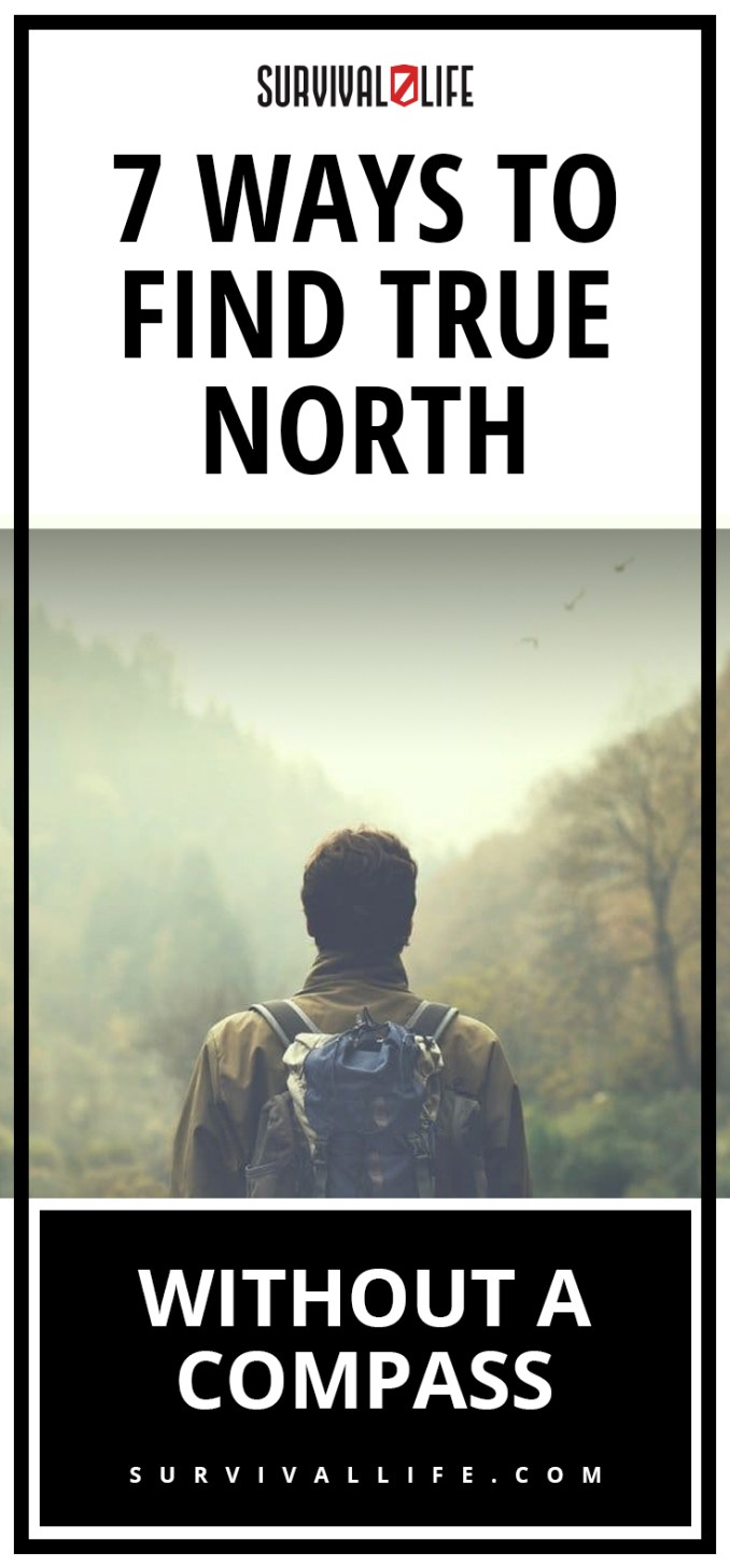 True North | 7 Ways To Find True North Without A Compass